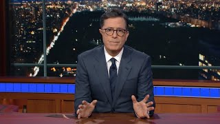 Colbert To Trump: 'Doing Nothing Is Cowardice'