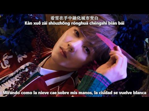 LUHAN - Winter Song (微白城市) [Sub Español + Pinyin  + Rom] Hd