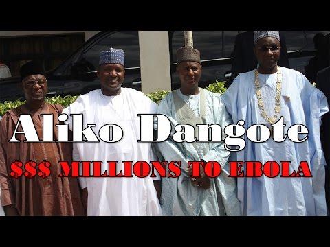 Richest Man in World Dangote Donates to Eradicate Ebola in Africa