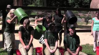 Maryland Zoo Mud/Ice Bucket Challenge