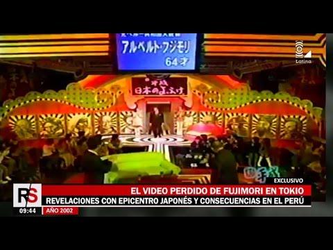 El video perdido de Alberto Fujimori en Tokio