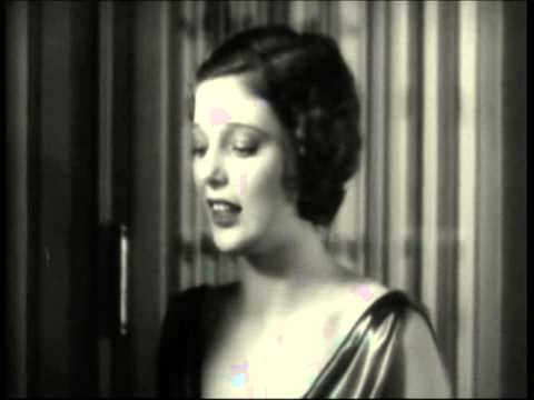 """A scene from the 1930 film """"Road to Paradise,"""" with Loretta Young, Jack Mulhall and Purnell Pratt. For more information, visit moviedavid.blogspot.com!"""