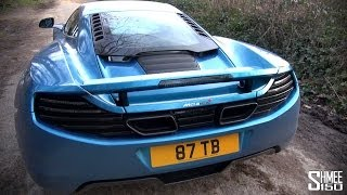 McLaren 12C Sports Exhaust - Startups, Revs and Intake Sound Generator