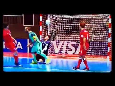 El golazo de Ricardinho... ¿el mejor del Mundial de Futsal?