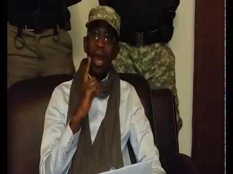 CALL BY SHEIKH SIDIA BAYO TO TOPPLE YAHYA JAMMEH