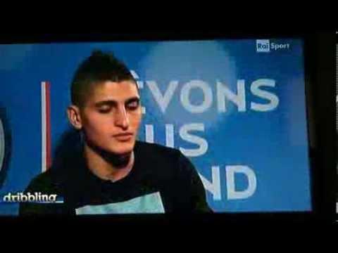 Marco Verratti intervista a Dribbling su Raidue