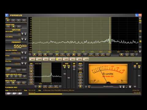 "550 kHz ""ABC Radio"" Honduras MW DX Heard in Michigan on Perseus SDR + D-KAZ Antenna"