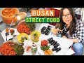 Lagu KOREAN STREET FOOD at Gukje Market in Busan