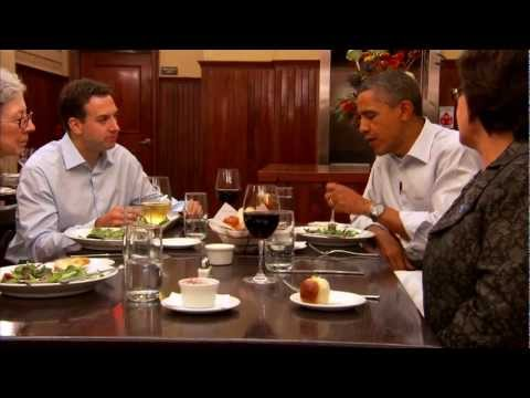 Dinner with Barack: Two Teachers, an Army Veteran, a Small Business Owner, and The President