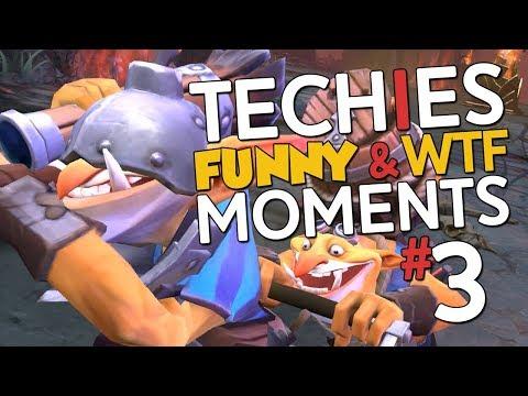 Techies WTF & Funny Moments #3 - DotA 2