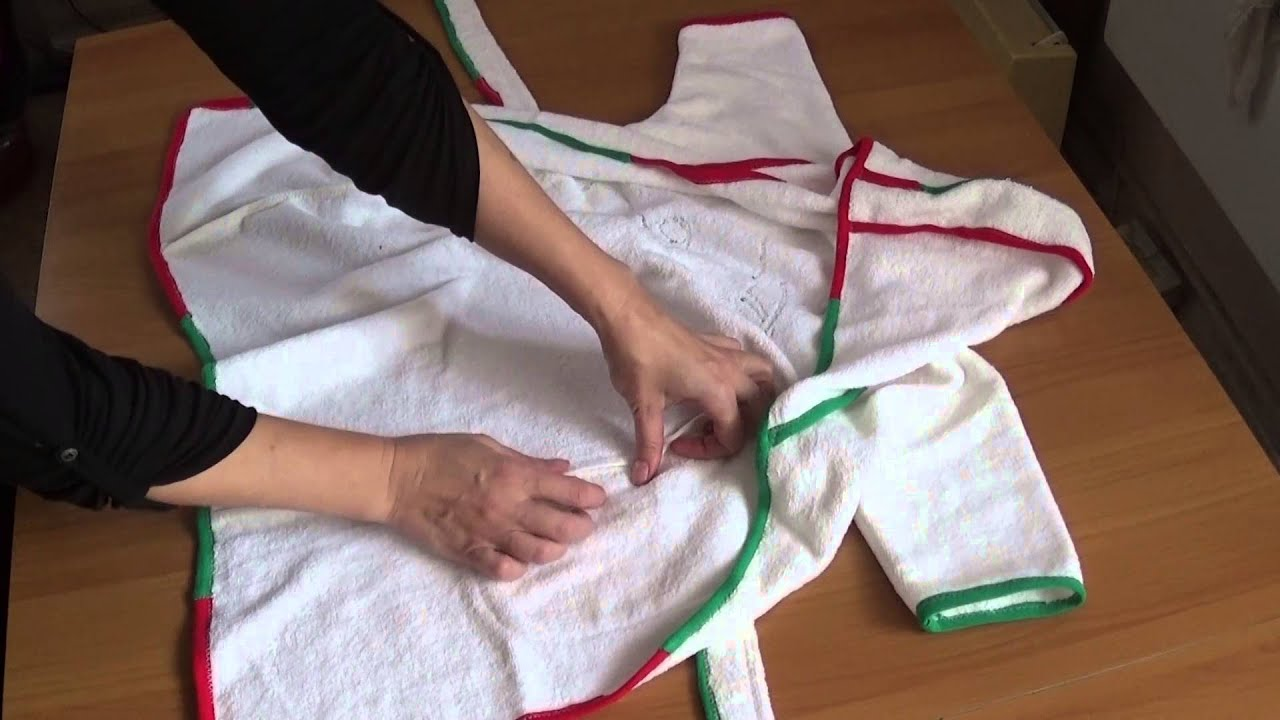 Как сшить халат для ребенка, если не