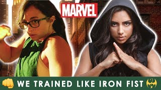 We Trained Kung Fu Like Iron Fist For A Month (Marvel