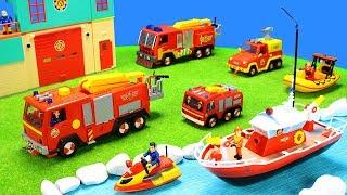 Feuerwehrmann Sam Feuerwehrautos: Bestes Feuerwehr Spielzeug Set für Kinder