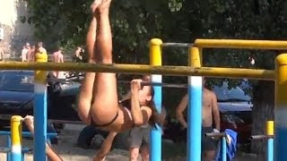 Russian Street Workout That Will Blow Your Mind