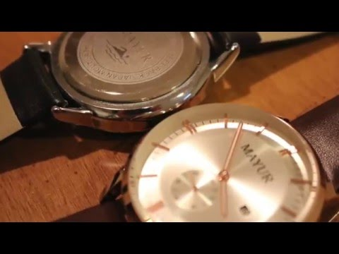MAYUR London Watches | Review and Unboxing | E-List Reviews