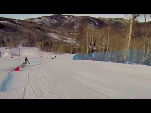 Marcel Hirscher Giant Slalom Training Vail 2013 (GoPro)