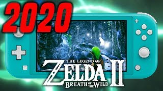 Zelda Breath of the Wild 2 Release Date in 2020 (NEW RUMOR/LEAK)