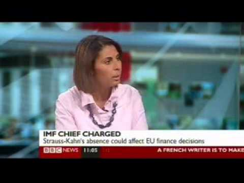 Nabila Ramdani - Bbc News Channel - Strauss Kahn's Sex Charges - 16 May 2011 video