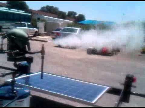 Solar Powered Steam Generator Solar Steam Generator Vid 3