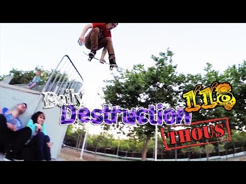 Daily Destruction Thous 118 - Locura de Skate, Salmón al Jäger y Princesas Disney