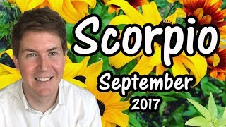 Scorpio September 2017 Horoscope | Gregory Scott Astrology