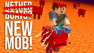NEW Nether Snapshot 20w13a: Strider mob, Lodestone block, Compasses, and more! (Minecraft Beta)
