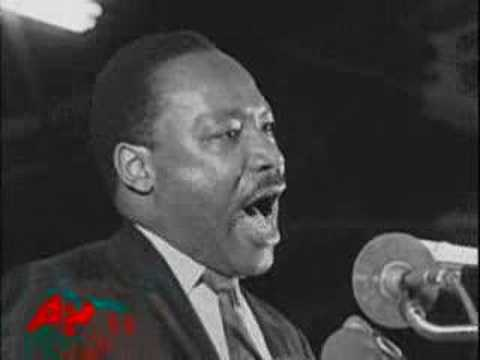 Martin Luther King Junior's Historic Last Speech video