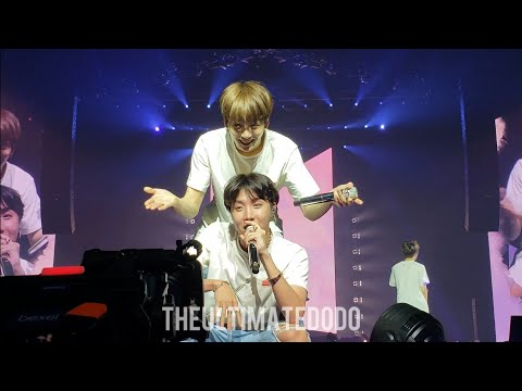 180922 Answer: Love Myself @ BTS 방탄소년단 Love Yourself Tour in Hamilton Fancam 직캠