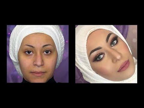 اعملي بنفسك مكياج فرحك الجزء الأول - DIY Arabic Bridal makeup part 1