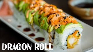 How To Make Dragon Roll (Recipe) ドラゴンロールの作り方(レシピ)
