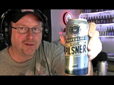 Waterloo Classic Pilsener Beer Review 184)