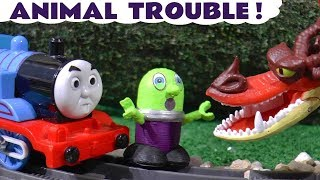 Thomas The Tank Engine and the funny Funlings Animal Trouble with How To Train Your Dragon TT4U
