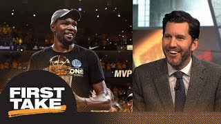 Will Cain: Kevin Durant era will begin Game 1 of 2018 NBA Finals | First Take | ESPN