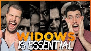 WIDOWS Is The Most Essential Movie Of 2018 - Review