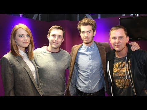 Emma Stone and Andrew Garfield talk TOWIE/MiC
