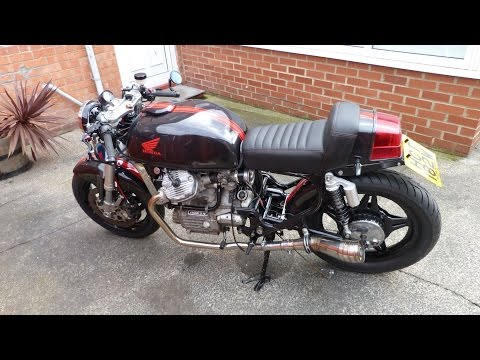 Honda CX 500 Colliery Cafe Racer, Ride review part 1