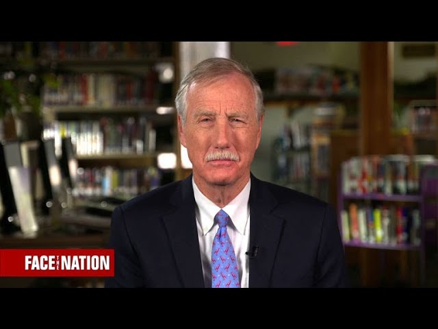 """Sen. King says it would be a """"constitutional crisis"""" if Mueller were fired"""