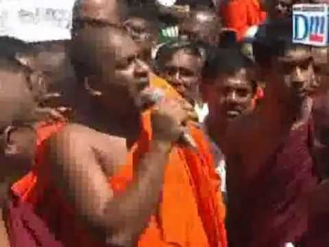 Bodu Bala Sena Protest in PILIYANDALA