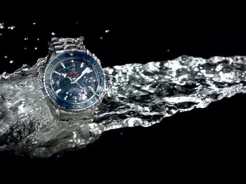Omega Seamaster Planet Ocean Watch Collection Wet T-shirt Contest video