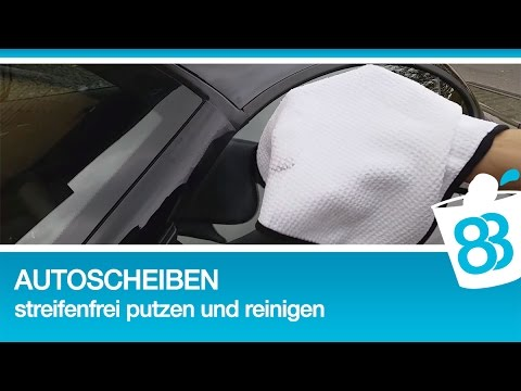autoscheiben und windschutzscheibe streifenfrei putzen und. Black Bedroom Furniture Sets. Home Design Ideas