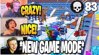 Pros PLAY the *NEW* DEATHMATCH MODE in Fortnite Creative Mode (FREE FOR ALL)