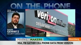 Verizon Is Sharing Data With the Government: What do They Know?  6/7/13