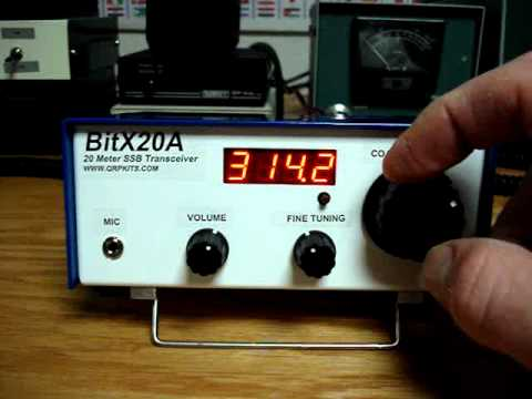 BITX20 Ham Radio Transceiver kit