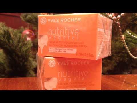 Посылка Yves Rocher Январь 2015