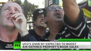 UFO in NYC: Aliens or balloons in New York sky?