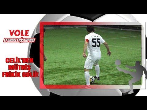 Vole Efsaneler Kupası | Celil'den müthiş frikik golü!