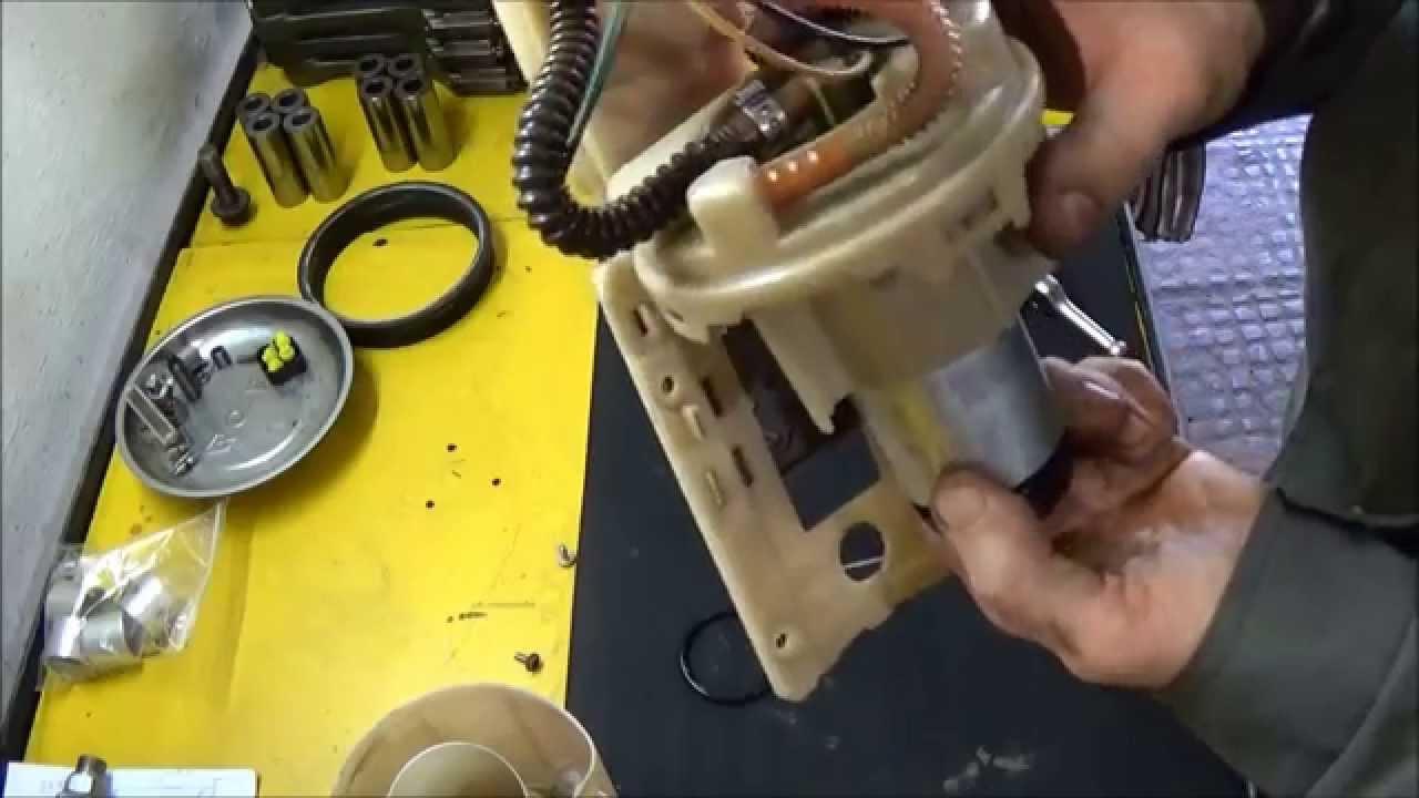 Ремонт электробензонасоса шкода