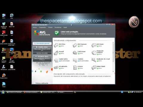Actualizar AVG Internet Security 2011 Sin Internet (Cualquier Version)