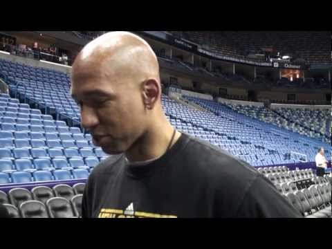 3/27/2013 Monty Williams Shootaround Preview