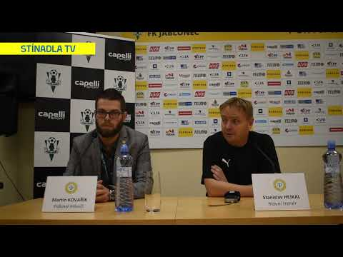 Tiskov konference po utkání v Jablonci (25.10.2019)